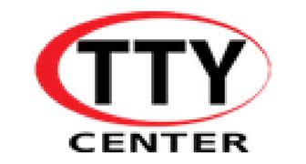 TTY Center Logo